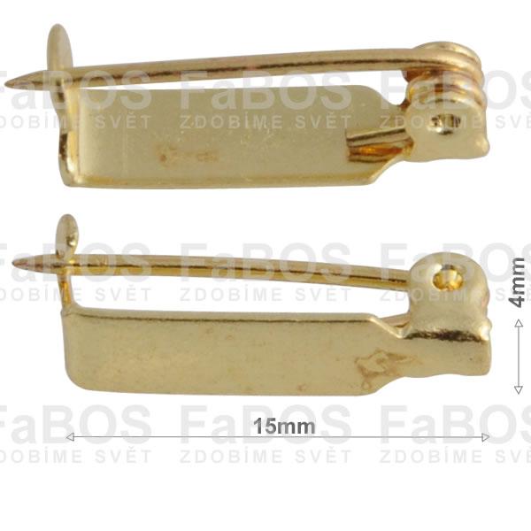 Brožové můstky Brožový můstek háček 15mm - FaBOS