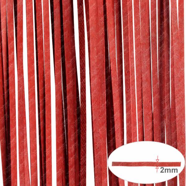 Kůže Plochá kůže120cm - Červená - FaBOS
