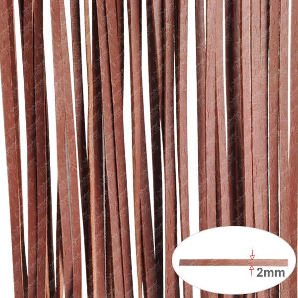 Kůže Plochá kůže120cm - Hnědá cihlová - FaBOS