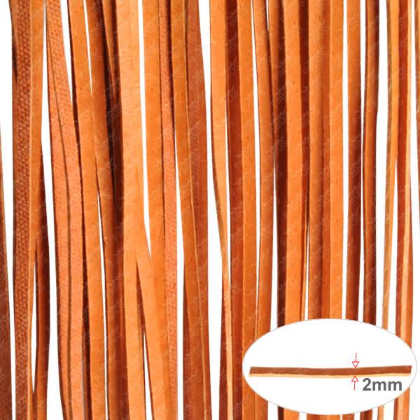 Kůže Plochá kůže120cm - Oranžová - FaBOS