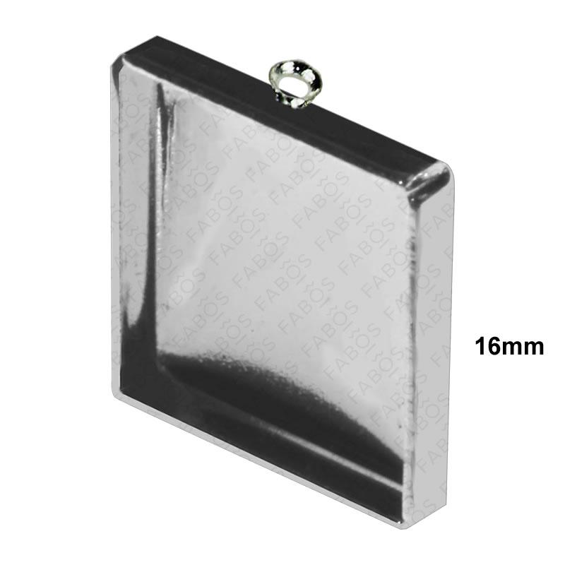 Lůžka na pryskyřici Lůžko pryskyřice čtverec 16x16mm - FaBOS