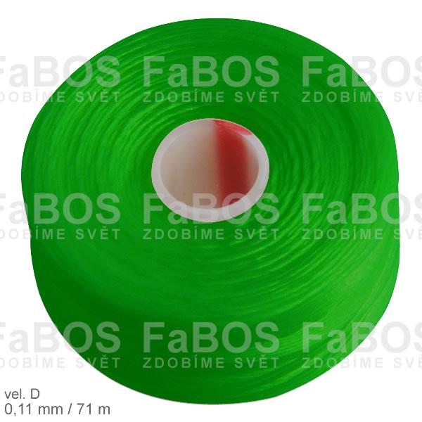 S-lon D Nylonová nit S-lon zelená velikost D - FaBOS