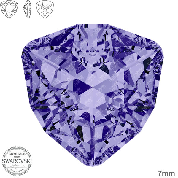 Swarovski Trilliant 4706 Swarovski Trilliant Tanzanite 07mm - FaBOS