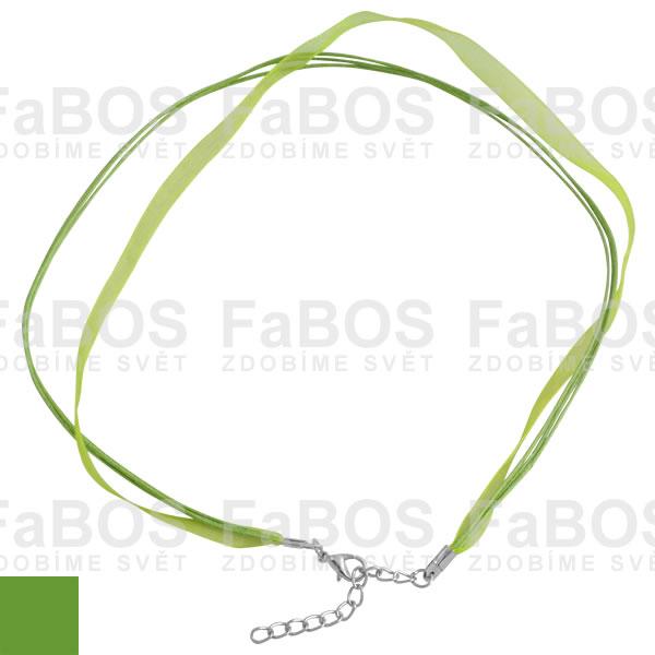 Stužky s koncovkou Stužka s koncovkou zelená - FaBOS