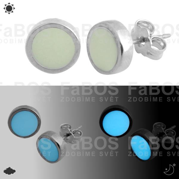Lumines Jewel - svítící bižuterie Lumines Jewel Náušnice 14mm - FaBOS