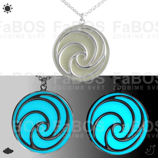 Lumines Jewel - svítící bižuterie Lumines Jewel Spirála - FaBOS
