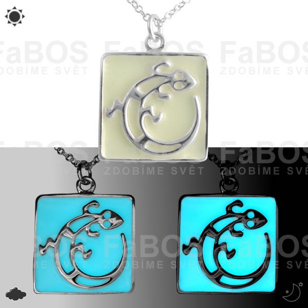 Lumines Jewel - svítící bižuterie Lumines Jewel Ještěrka - FaBOS