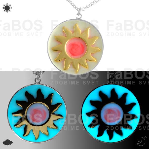 Lumines Jewel - svítící bižuterie Lumines Jewel Slunce - FaBOS