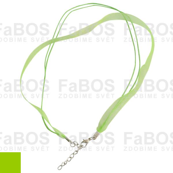 Stužky s koncovkou Stužka s koncovkou zelená světlá - FaBOS