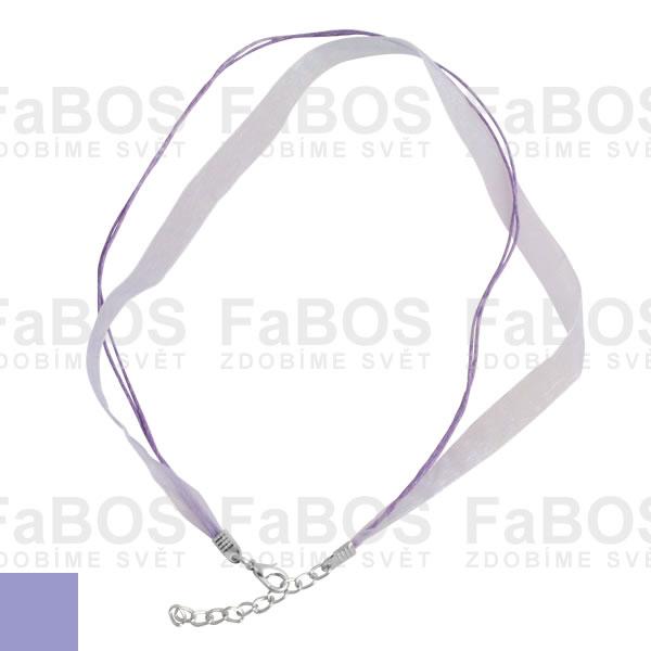 Stužky s koncovkou Stužka s koncovkou fialová světlá - FaBOS