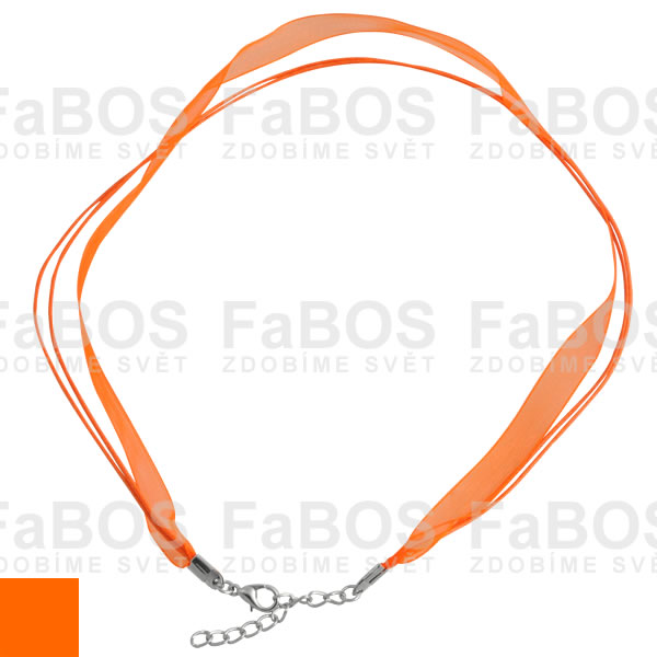 Stužky s koncovkou Stužka s koncovkou oranžová - FaBOS