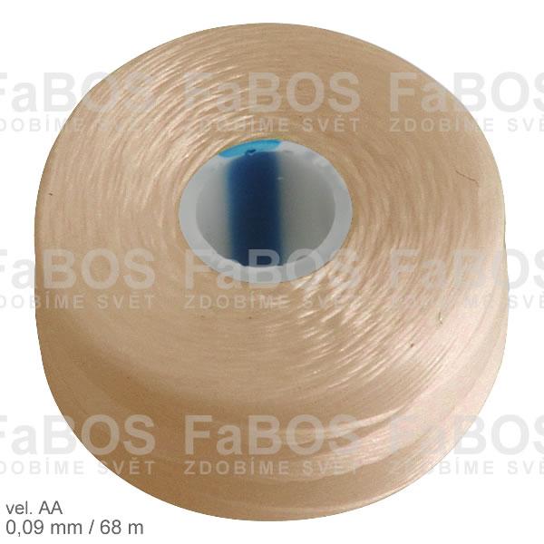 S-lon AA Nylonová nit S-lon béžová velikost AA - FaBOS