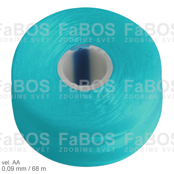 S-lon AA Nylonová nit S-lon modrá velikost AA - FaBOS