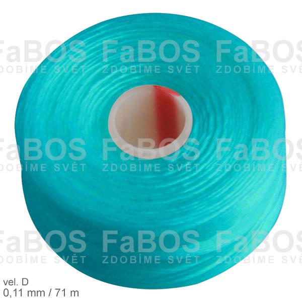 S-lon D Nylonová nit S-lon modrá velikost D - FaBOS
