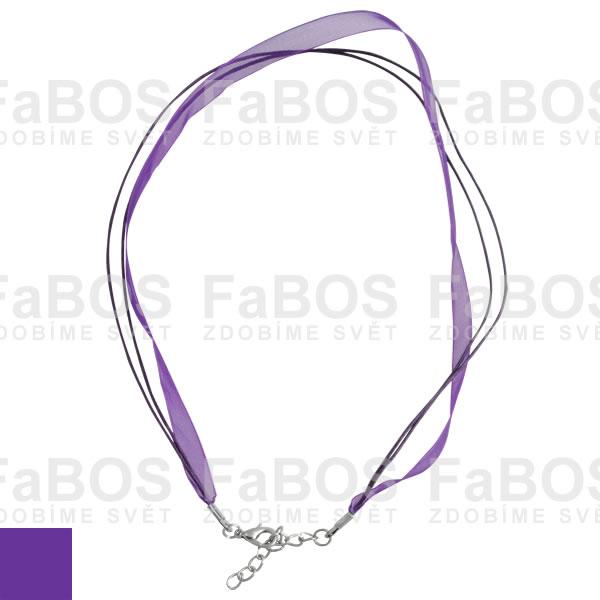 Stužky s koncovkou Stužka s koncovkou fialová - FaBOS