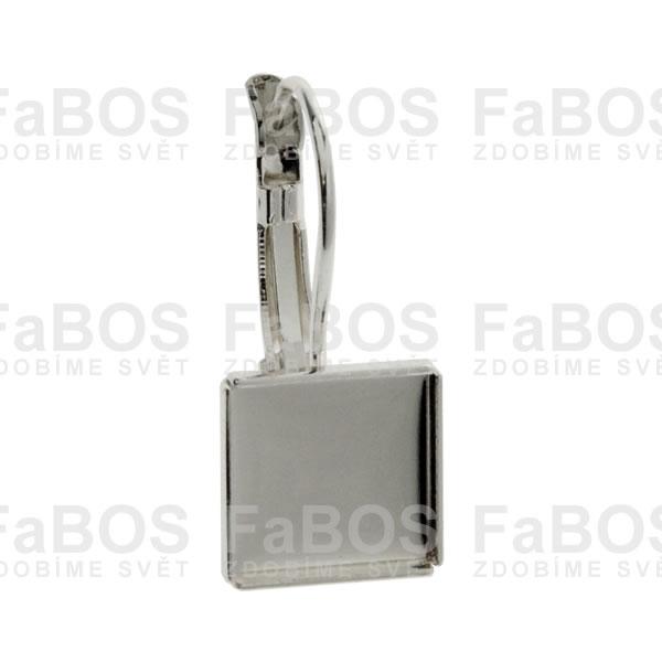 Lůžka na pryskyřici Lůžko pryskyřice čtverec klapka 10x10mm - FaBOS