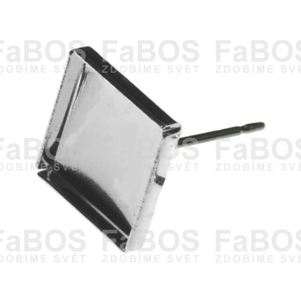 Lůžka na pryskyřici Lůžko pryskyřice čtverec puzeta 08x08mm - FaBOS