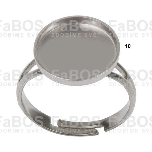 Lůžka na pryskyřici Lůžko pryskyřice kulaté prsten 10mm - FaBOS