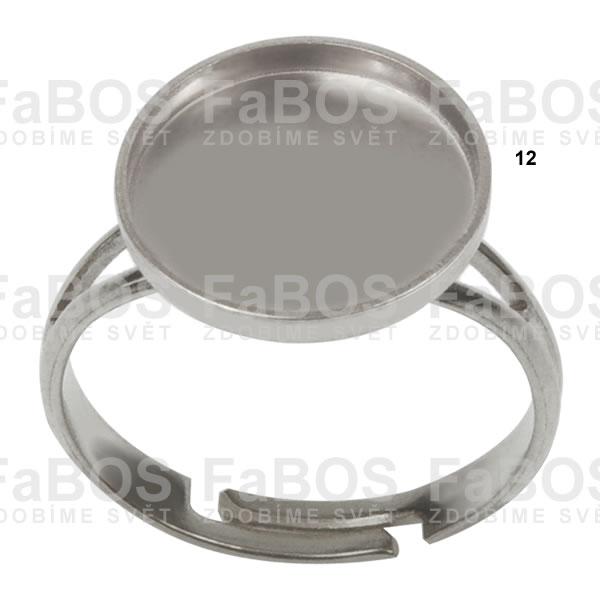 Lůžka na pryskyřici Lůžko pryskyřice kulaté prsten 12mm - FaBOS