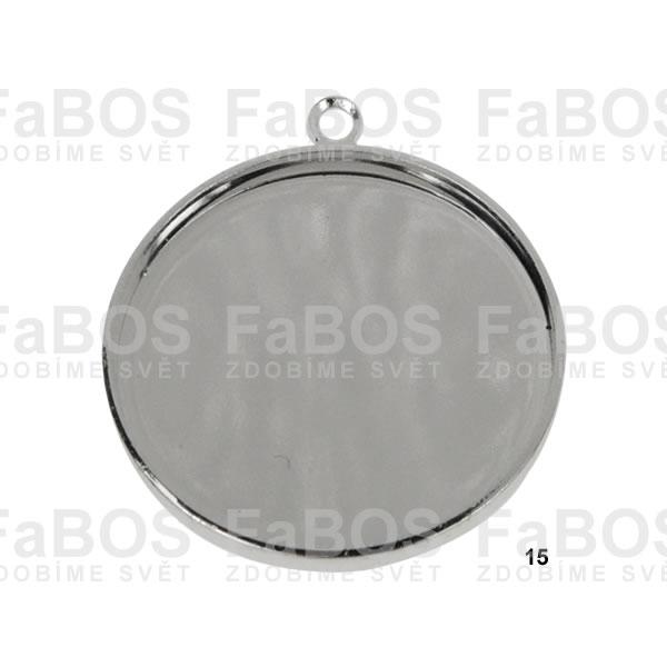 Lůžka na pryskyřici Lůžko pryskyřice kulaté očko 15mm - FaBOS