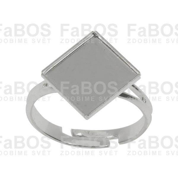 Lůžka na pryskyřici Lůžko pryskyřice čtverec prsten 08x08mm - FaBOS