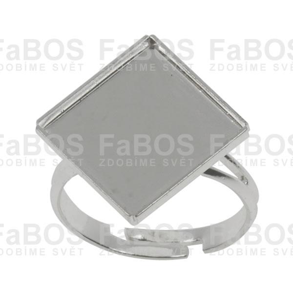 Lůžka na pryskyřici Lůžko pryskyřice čtverec prsten 12x12mm - FaBOS
