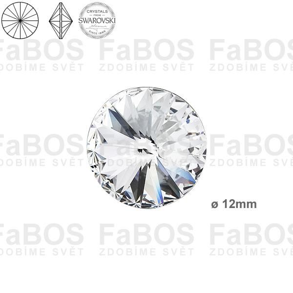 Swarovski Rivoli 1122 Swarovski Rivoli Crystal 12mm - FaBOS