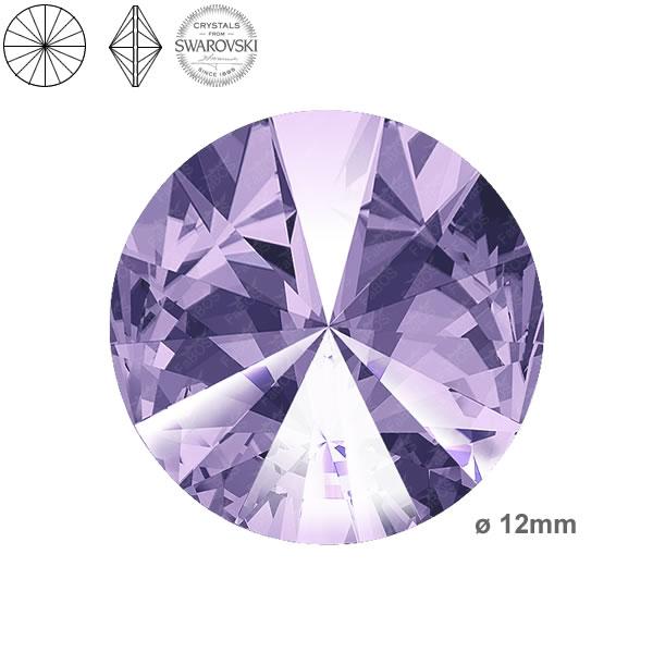Swarovski Rivoli 1122 Swarovski Rivoli Violet 12mm - FaBOS