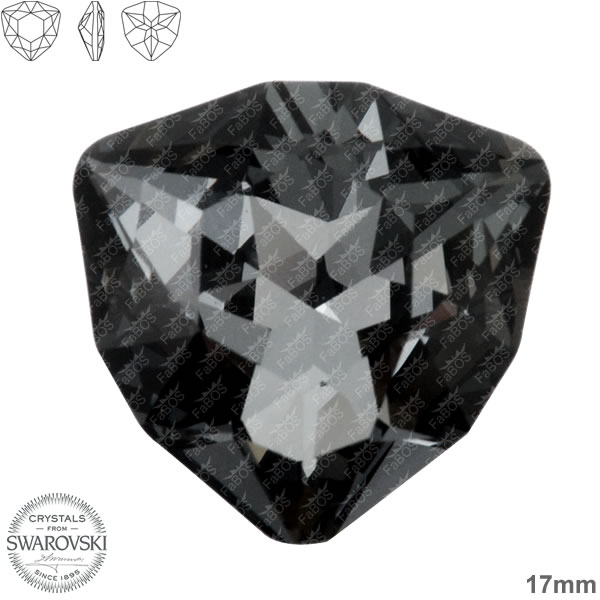 Swarovski Trilliant 4706 Swarovski Trilliant Silver night 17mm - FaBOS