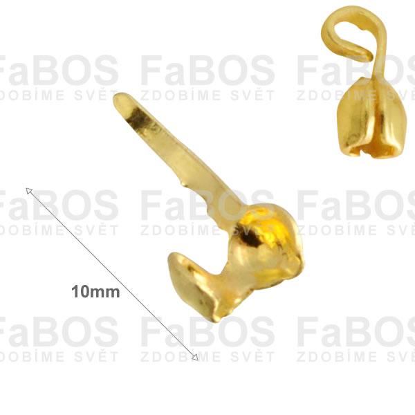 Bižuterní kaloty  Bižutení kalota dvou misková 10mm - FaBOS