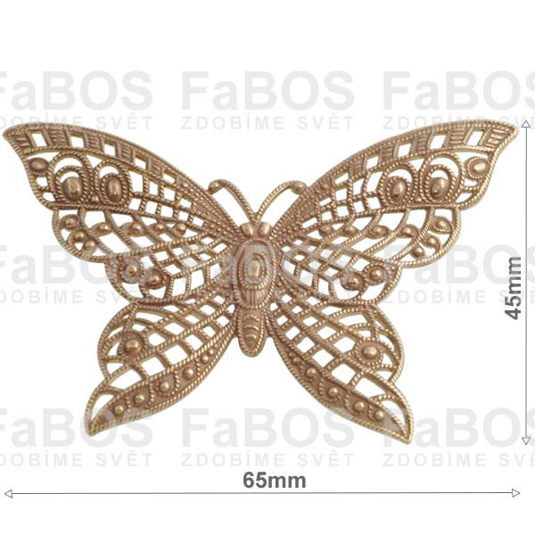 Filigrány Filigrán motýl velký - FaBOS