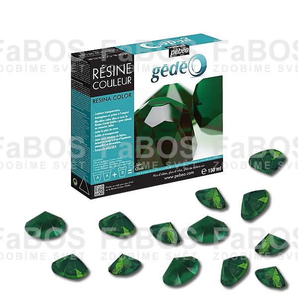 Pryskyřice do lůžka Zelená pryskyřice Gédéo Jade 150ml - FaBOS