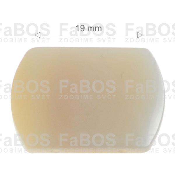 Perleť Perleť obdélník 14x19mm - FaBOS