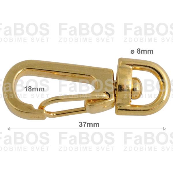 Klíčové mechaniky Klíčová mechanika pružinka 37mm - FaBOS