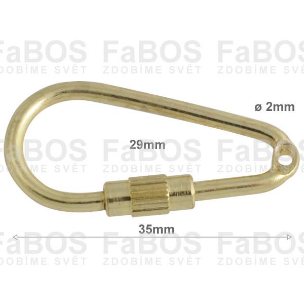 Klíčové mechaniky Klíčová mechanika šroubovací 35mm - FaBOS