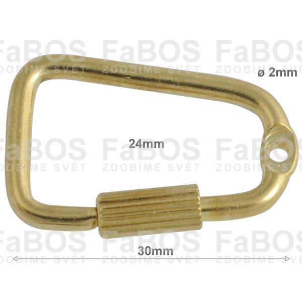 Klíčové mechaniky Klíčová mechanika šroubovací 30mm - FaBOS