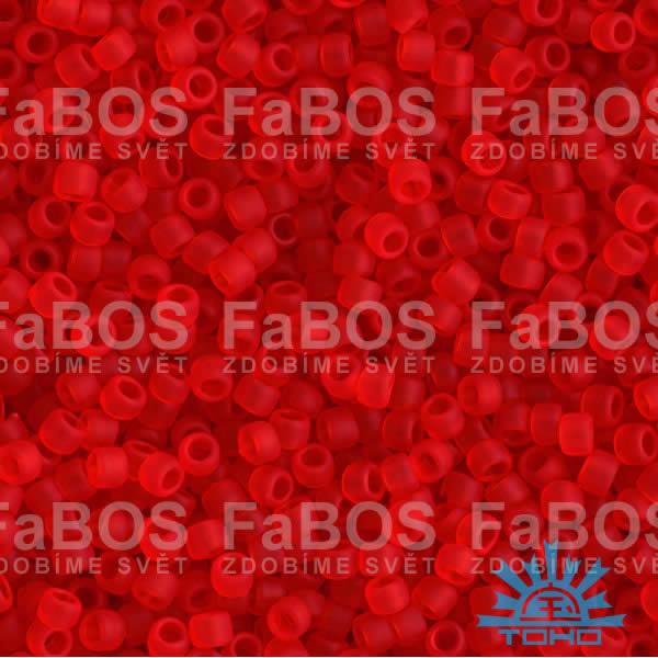 TOHO korálky round 15/0 Korálek TOHO round 15/0 011-B-5F (5g) - FaBOS