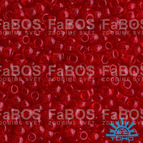TOHO korálky round 11/0 Korálek TOHO round 11/0 021-B-5B (10g) - FaBOS
