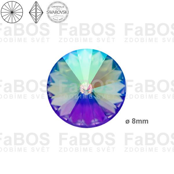 Swarovski Rivoli 1122 Swarovski Rivoli Crystal Paradise Shine 08mm - FaBOS