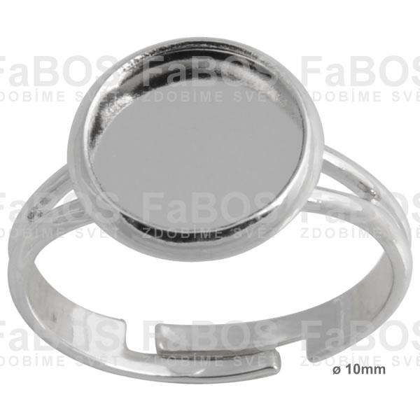 Lůžka epoxy čočky Lůžko epoxy čočka kulaté prsten 10mm - FaBOS