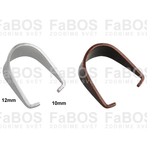 Bižuterní šlupny Bižuterní šlupna 12x10mm - FaBOS