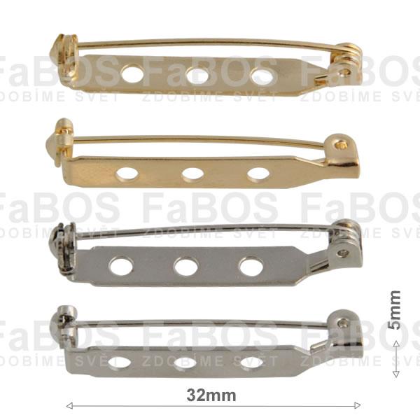 Brožové můstky Brožový můstek mechanika díra 32mm - FaBOS