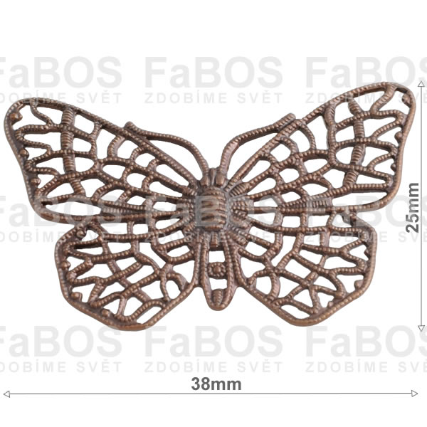 Filigrány Filigrán motýl - FaBOS
