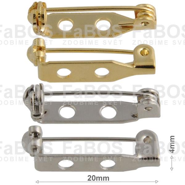 Brožové můstky Brožový můstek mechanika díra 20mm - FaBOS
