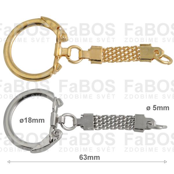 Klíčové mechaniky Klíčová mechanika utahovací řetízek 63mm - FaBOS