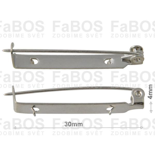 Brožové můstky Brožový můstek háček díra 30mm - FaBOS