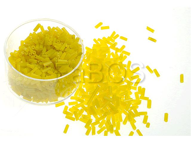 Rokajlové korálky Žlutá-mat - FaBOS