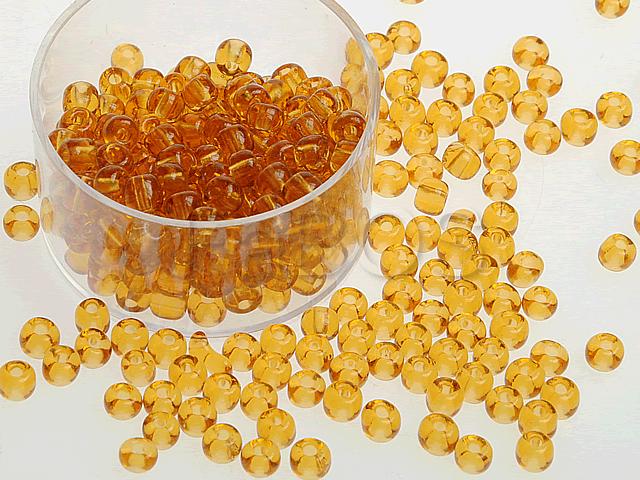 Rokajlové korálky Sv.oranžová(5) - FaBOS