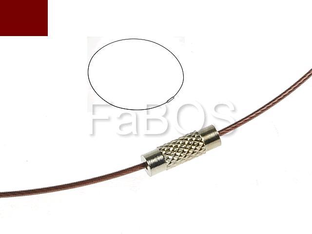 Obojkové dráty Obojkový drát Hnědý - FaBOS