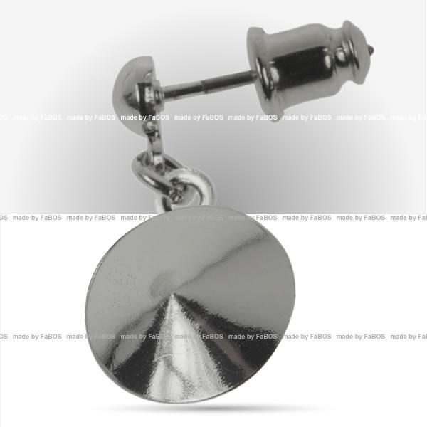 Náušnice půlkulička Náušnice půlkulička pro Rivoli Sw. 14mm - FaBOS